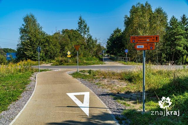 zlamanie-drogi-rowerowej-przed-przejazde