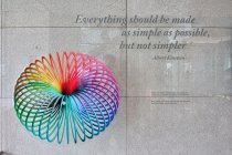 Albert Einstein: Wszystko powinno zostać uproszczone tak bardzo, jak to tylko możliwe, ale nie bardziej