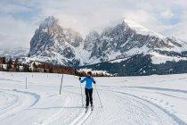 Alpe di Siusi - Sasso Lungo i Sasso Piatto
