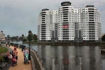 Apartamentowce w Kaliningradzie. Fot. Aleksander Kaasik