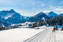 Austriackie Alpy zimą