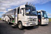 Autobus Reykjavik Excursions na trasy interioru