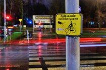 Automatyczne uruchomienie sygnalizacji dla rowerów
