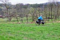 Beskid Niski na rowerze - w Nieznajowej