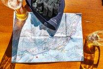 Bezpłatna mapa tras biegowych w dolinie Kleinwalsertal