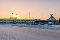 Białe drogi w Kuusamo