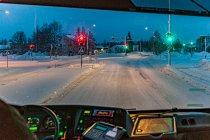 BIałe ulice Kuusamo