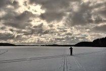 Biegówki po kaszubskich jeziorach