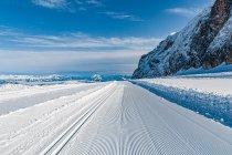 Biegówki w Austrii na masywie Dachstein