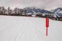 Biegówki w Ramsau w Austrii