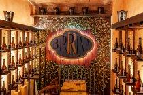 Birrina. Wnętrze bolońskiej restauracji