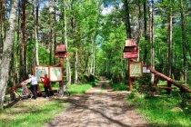 Brama do Parku Narodowego Borów Tucholskich