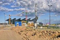 Budowa nowego terminalu lotniska