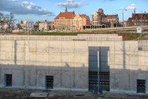 Budowa tunelu kolejowego pod Forum Radunia w Gdańsku