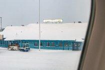 Budynek lotniska w Kuusamo