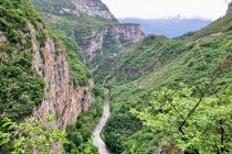 Canyon del Limarò w kierunku Madonny di Campiglio