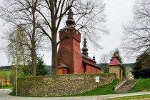 Cerkiew św. Dymitra w Śnietnicy w Beskidzie Niskim