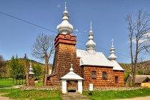 Cerkiew w Boguszy w Beskidzie Niskim