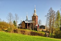 Cerkiew w Czyrnej w Beskidzie Niskim