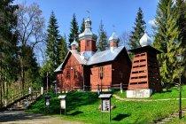 Cerkiew w Kamiannej w Beskidzie Niskim