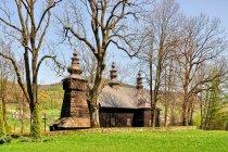 Cerkiew w Królowej Górnej w Beskidzie Niskim