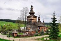 Cerkiew w Skwirtnem w Beskidzie Niskim