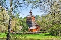 Cerkiew ze wsi Czarne - skansen w Nowym Sączu