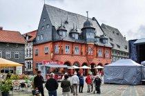 Charakterystyczny budynek Kaiserworth w Goslar