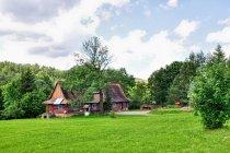 Chata nad Wisłokiem w Beskidzie Niskim