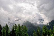 Chmury nad Dolomiti di Brenta
