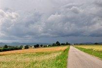 Ciemne chmury nad Podkarpaciem