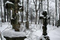 Cmentarz w dawnym Czarnem