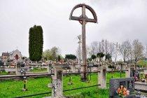 Cmentarz wojskowy z I wojny światowej w Ropie