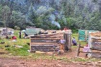 Cygański obóz pod Prislopem