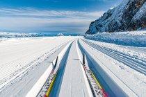 Dachstein na nartach biegowych