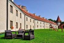 Dawnej opactwo, dziś Hotel Podklasztorze