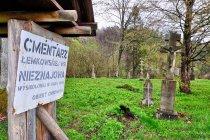 Dawny cmentarz łemkowski w Nieznajowej