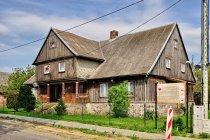 Dawny mennonicki dom w Mątawach