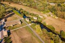 Długi Most w Forst prowadzący na polską stronę