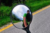 Dolina Adygi w rowerowym lusterku