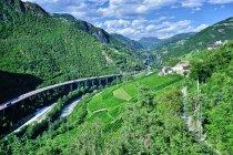 Dolina łącząca Bolzano i Bressanone
