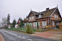 Domy w Starych Łysogórkach