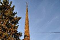 Drewniana cerkiew w Sieu