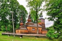 Drewniana cerkiew w Świątkowej Małej