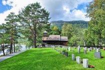 Drewniana kaplica w Hestad