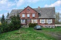 Drewniany dom na Wyspie Sobieszewskiej