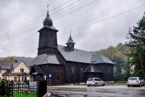 Drewniany kościół w Żabnicy