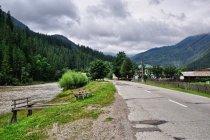 Droga nad Bystrzycą