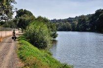Droga nad Morawą