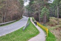 Droga rowerowa między Osiem a Tleniem